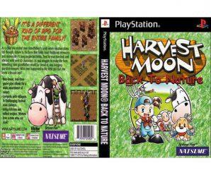 แผ่นเกม PS1 [Harvest Moon – Back to Nature] ราคาถูก