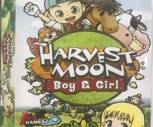 Hot Sale แผ่นเกมส์ pc Harvest Moon Boy&Girl